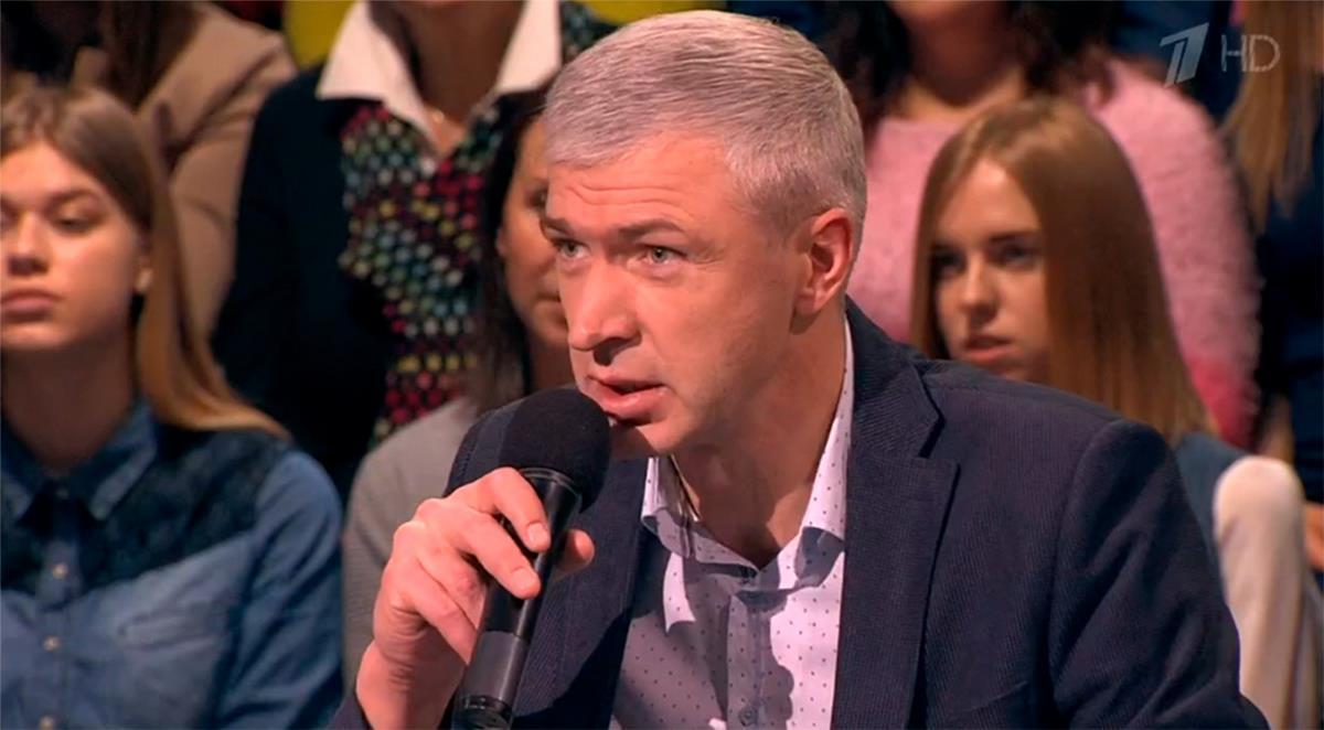 Психолог Дмитрий Козлов поможет героям программы Мужское/женское