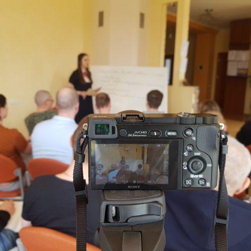 Процесс семинара  Дарьи Серебряковой